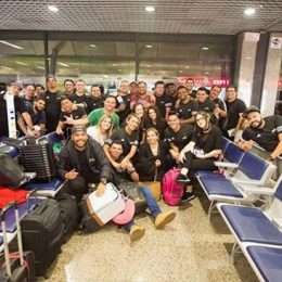 Equipe de Wesley Safadão embarca para Lisboa, cidade que recebe primeiro show da turnê europeia