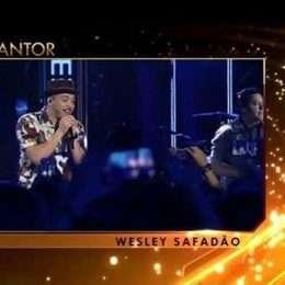 Wesley Safadão ganha prêmio na categoria cantor do 'Troféu Imprensa'