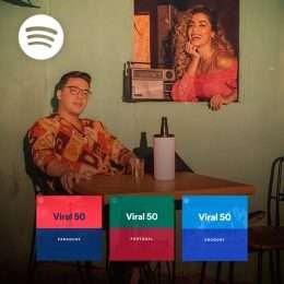 """""""Romance Com Safadeza"""" bomba nas listas de virais mundiais do Spotify"""