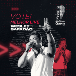 Prêmio Rádio Globo Quem 2021: Wesley Safadão concorre na categoria Melhor Live; vote