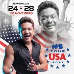 Wesley Safadão anuncia shows nos Estados Unidos; confira