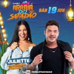 Live Arraiá do Safadão tem participação especial de Juliette, campeã do BBB21